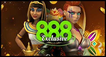 888 exklusiva spel!