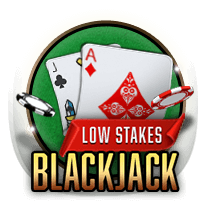 Low Stakes Blackjack card-and-table