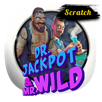 Doctor Jackpot and Mister Wild Scratch slots