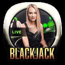 Live Sapphire Blackjack live