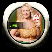 Live Emerald Blackjack live