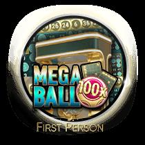 Mega Ball card-and-table