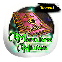 Merlin's Millions Reveal slots