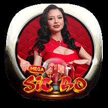 Mega Sic Bo - live